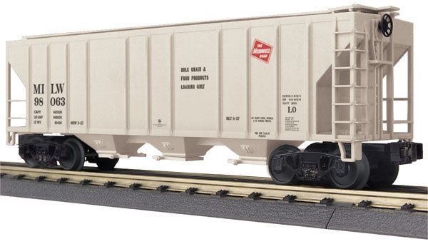 "MTH 30-75507 - Ps-2 Discharge Hopper Car ""Milwaukee Road"""