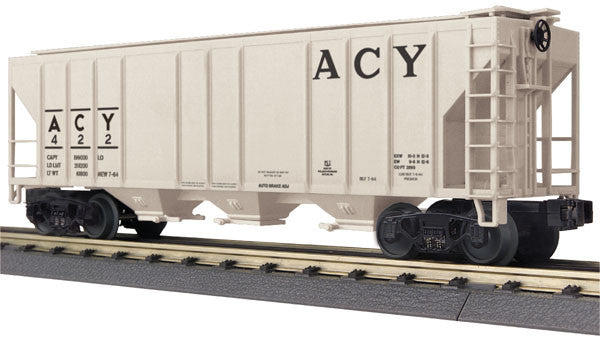 "MTH 30-75509 - Ps-2 Discharge Hopper Car ""Akron Canton & Youngstown"""
