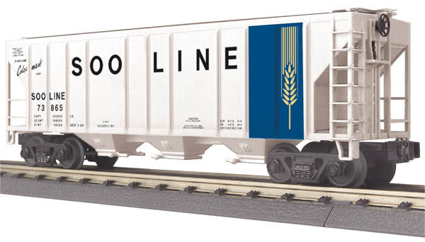 "MTH 30-75527 - Ps-2 Discharge Hopper Car ""Soo Line"""