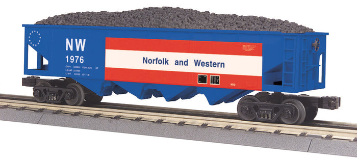 "MTH 30-75549 - 4-Bay Hopper Car ""Norfolk & Western"""