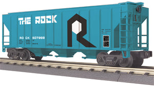 "MTH 30-75583 - Ps-2 Discharge Hopper Car ""Rock Island"""