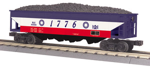 "MTH 30-75627 - 4-Bay Hopper Car ""Bessemer & Lake Erie"""