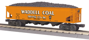 "MTH 30-75629 - 4-Bay Hopper Car ""Waddell Coal"""