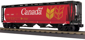 "MTH 30-75679 - 4-Bay Cylindrical Hopper Car ""Canada"""