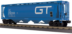 "MTH 30-75681 - 4-Bay Cylindrical Hopper Car ""Grand Trunk Western"""