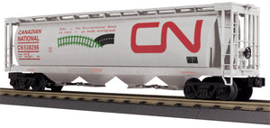 "MTH 30-75682 - 4-Bay Cylindrical Hopper Car ""Canadian National"""