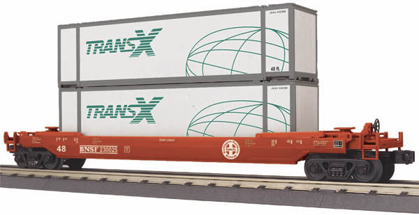 "MTH 30-76624 - Husky Stack Car ""BNSF"""