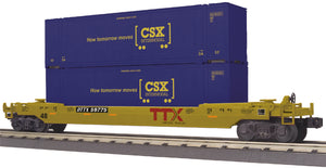 "MTH 30-76716 - Husky Stack Car ""CSX"""