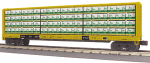 "MTH 30-76751 - Center I-Beam Flat Car ""TTX"""