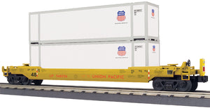 "MTH 30-76759 - Husky Stack Car ""Union Pacific"" w/ ETD"