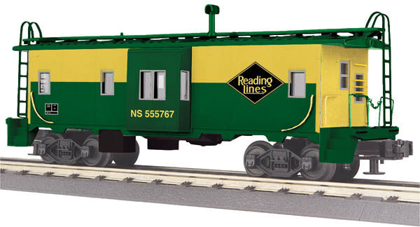 "MTH 30-77230 - Bay Window Caboose ""Reading"""