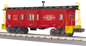 "MTH 30-77341 - Bay Window Caboose ""Illinois Terminal"""