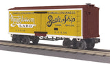 "MTH 30-78183 - 19th Century Reefer Car ""Evansville Packing Co."""