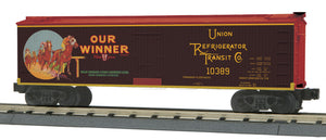 "MTH 30-78193 - 40' Woodsided Reefer Car ""Our Winner Juice"""