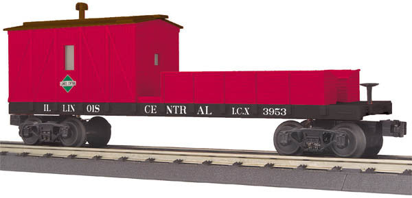 "MTH 30-79486 - Crane Tender Car ""Illinois Central"""