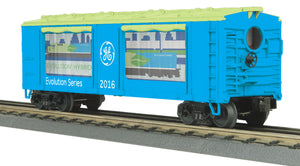 "MTH 30-79510 - Operating Action Car ""G.E. Evolution"""