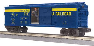 "MTH 30-79514 - Operating Box Car ""Alaska"" w/ Signal Man"