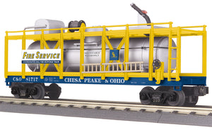 "MTH 30-79532 - Fire Car ""Chesapeake & Ohio"""