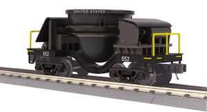 "MTH 30-79592 - Slag Car ""U.S."" - Black"
