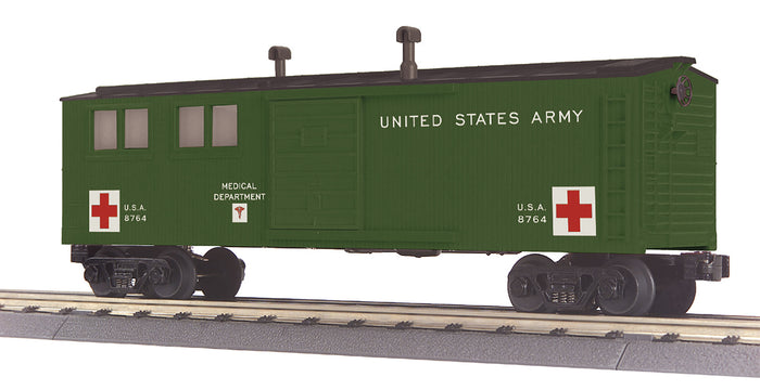 MTH 30-79636 U.S. Army Engineering Car