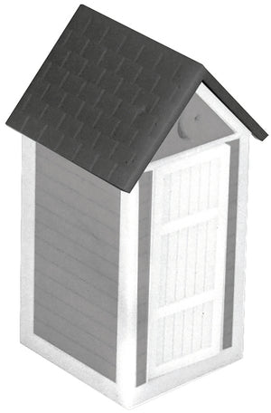 MTH 30-90001 - Out House (Gray & White)
