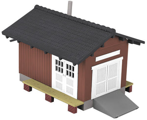 MTH 30-90004 - Country Freight Station (Red/Black)