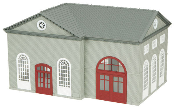 MTH 30-90007 - Water Supply Building (Gray & White)