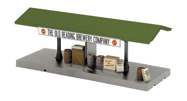 "MTH 30-90190 - Operating Freight Platform ""The Old Reading Brewing Company"""