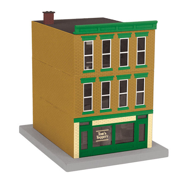 "MTH 30-90486 - 3-Story City Building ""Tom's Toggery"""