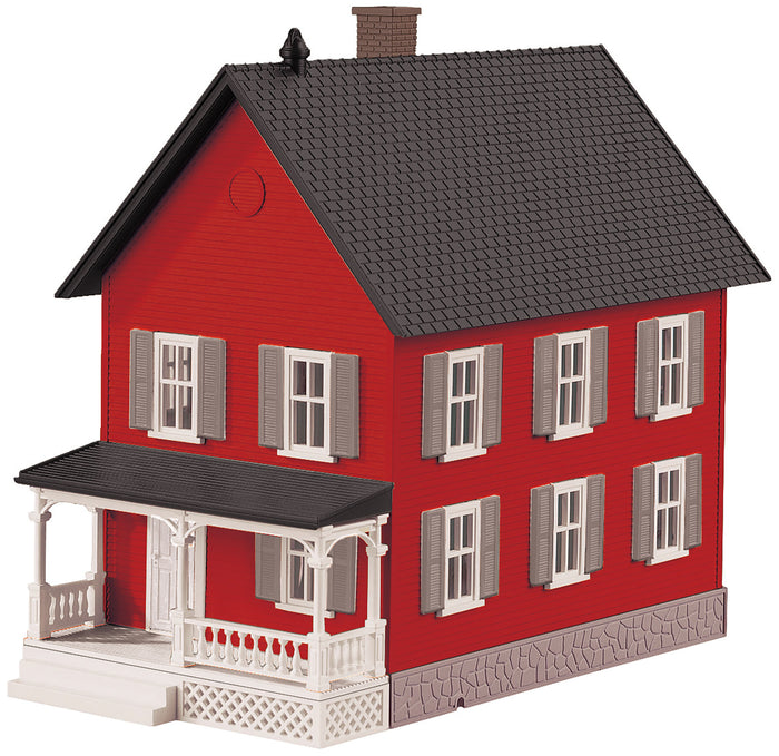 MTH 30-90552 - Row House #2 (Red & Gray)