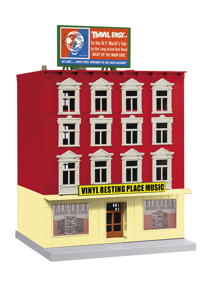 "MTH 30-90558 - 4-Story Building ""Vinyl Resting Place Music"""