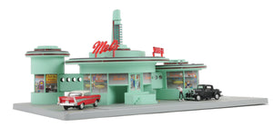"MTH 30-9188 - Operating Drive-In Diner ""Mel's"""