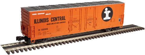 "Atlas O 3001319 - 53' Evans Double Plug Door Box Car ""Illinois Central"""