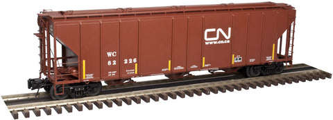 "Atlas O 3001362 - PS-4427 Covered Hopper ""WC / CN"""