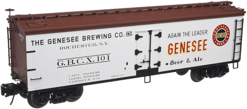 "Atlas O 3001521 - 40' Wood Reefer ""Genesee Brewing Company"""