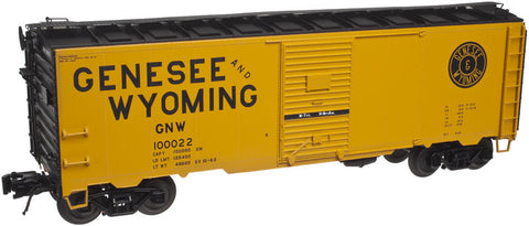 "Atlas O 3001816 - 40' 1937 AAR Single Door Box Car ""Genesee & Wyoming"""