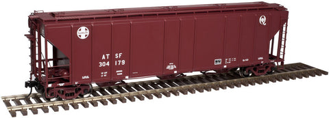 "Atlas O 3002360 - PS-4427 Covered Hopper ""Santa Fe"" - 2 Rail"
