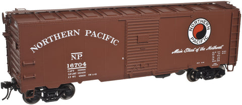 "Atlas O 3001818 - 40' 1937 AAR Single Door Box Car ""Northern Pacific"""