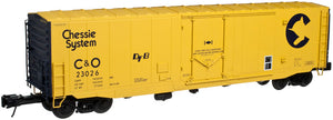 "Atlas O 3004506 - 50' PS-1 Plug Door Boxcar ""Chessie System"" (2-Rail)"