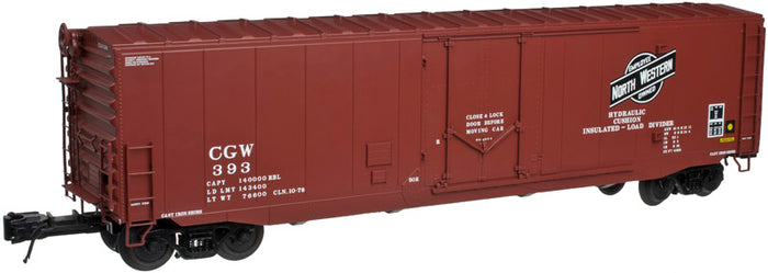 "Atlas O 3004507 - 50' PS-1 Plug Door Boxcar ""Chicago & North Western"" (2-Rail)"