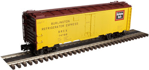 "Atlas O 3003901 - 40' Steel Reefer ""Burlington"""