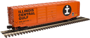 "Atlas O 3007603 - 50' PS-1 Double Door Box Car (Modernized) ""Illinois Central Gulf"""