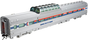 "Atlas O 3007009-1 -  CZ Dorm-Buffet-Lounge Dome Car ""Amtrak"""