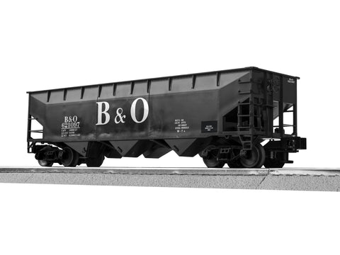 "Lionel 3-16060 - LionScale - 3-Bay Offset Hopper ""Baltimore & Ohio"" (6-Car)"