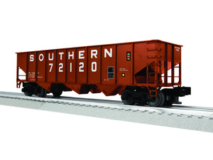 "Lionel 3-16120 - LionScale - 3-Bay 9-Panel Hopper ""Southern"" (6-Car)"