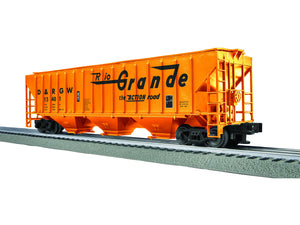 "Lionel 3-16150 - LionScale - PS-2CD Covered Hopper ""D&RGW"" (6-Car)"