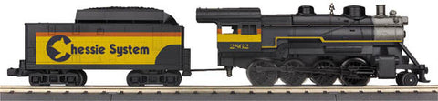 MTH 33-1043-1 Chessie 2-8-0 Steam Engine wPS 3.0