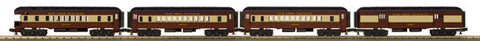 MTH 33-6262 New York Central  4-Car O-27 Madison Passenger Set