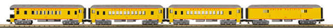 MTH 33-6264 Union Pacific 4-Car O-27 Madison Passenger Set