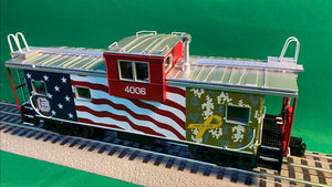 "MTH 20-91671 - Extended Vision Caboose ""Kansas City Southern"""